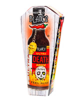 Blair's Ultra Death Sauce for Blonde Chilli, Australia.