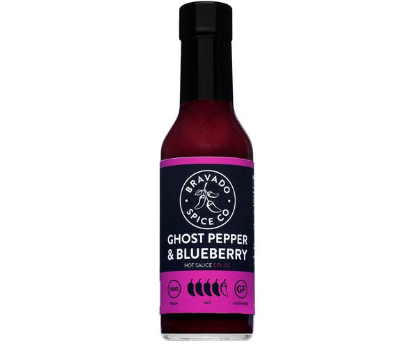 Bravado Ghost Pepper and Blueberry Hot Sauce