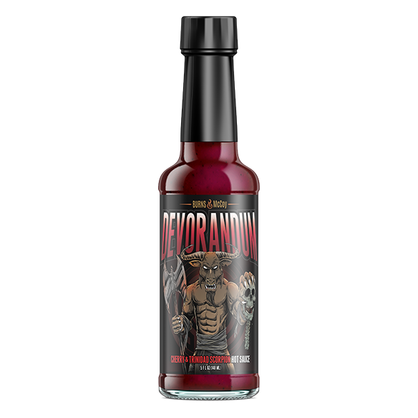 Burns and McCoy Devorandum Hot Sauce