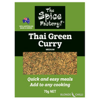 The Spice Factory Thai Green Curry. Buy it at Blonde Chilli, Australia.