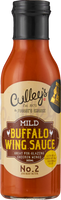 Culley's Mild Buffalo Wing Sauce for Blonde Chilli, Australia. (Old Label)