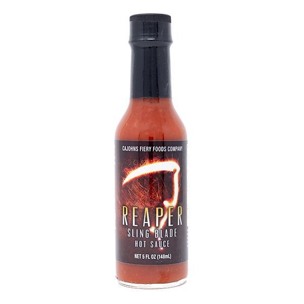Cajohns Reaper Sling Blade made with Carolina Reaper chilli for Blonde Chilli Australia.