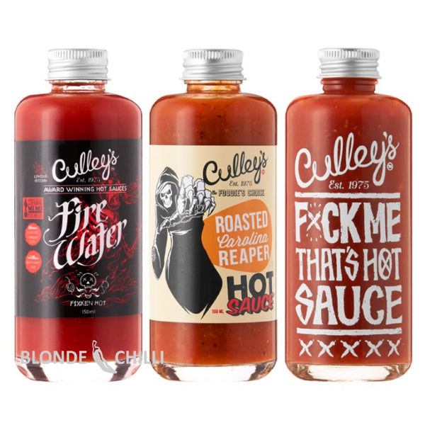 Culley's Firewater, F*ck Me That's Hot Sauce, Roasted Carolina Reaper.