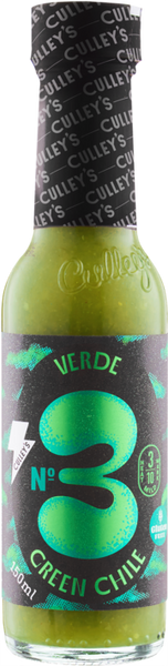 CULLEY'S No.3 - Verde Green Chile Hot Sauce is available at BLONDE CHILLI, Australia
