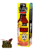 Blair's Original Death Sauce at BLONDE CHILLI (Australia). As seen on hot YouTube show, Hot Ones,