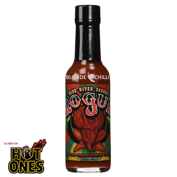 High River Rogue Hot Sauce as seen on hit YouTube show, Hot Ones. Available in Australia at Blonde Chilli.