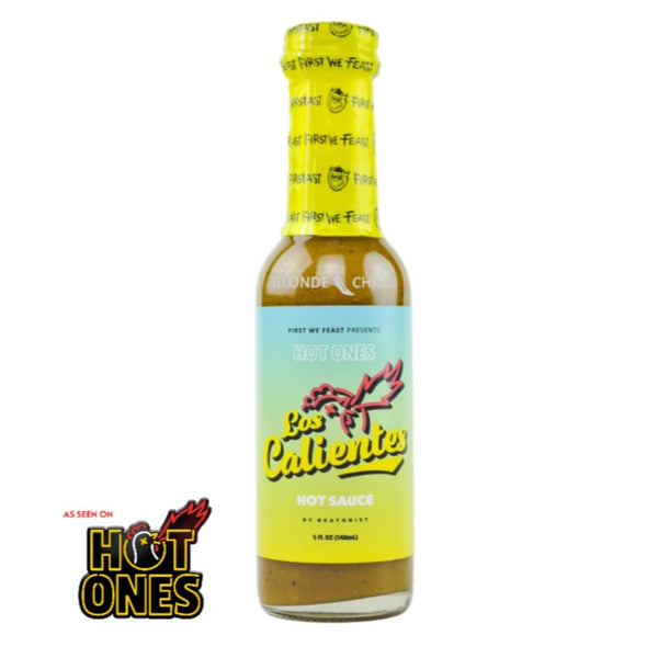 First We Feast presents Los Calientes by HEATONIST. Made exclusively for Hot Ones.