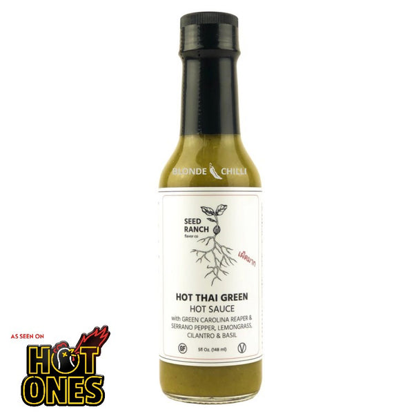 Seed Ranch Hot Thai Green Hot Sauce as featured on Hot Ones.