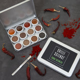 MARVLING BROS CHILLI SCIENCE GLOBAL TASTING KIT at BLONDE CHILLI