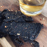 Quirky Jerky Bourbon flavour is distributed by Blonde Chilli, Australia