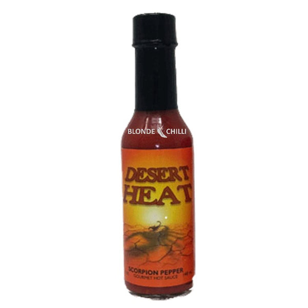 Sauceworks Co. Desert Heat Sauce for Blonde Chilli Hot Sauce Shop, Australia.