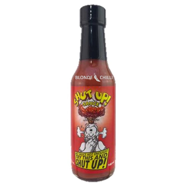 Sauceworks Co. Shut Up! Sauce for Blonde Chilli Hot Sauce Shop, Australia.