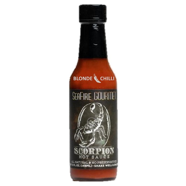 Seafire Gourmet Scorpion Hot Sauce for Blonde Chilli, Australia,