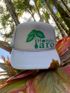 Hanalei Taro Trucker Hat Green/Gray