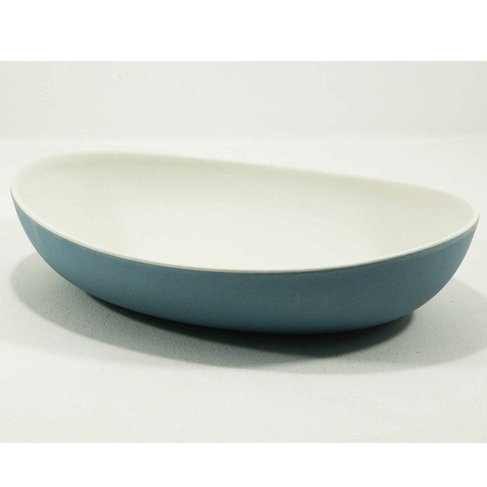 Bamboo oval bowls - large