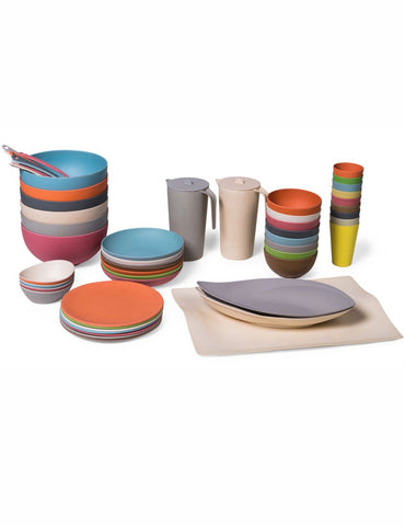 Bamboo tableware collection
