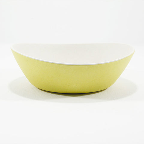 Bamboo oval bowls - small
