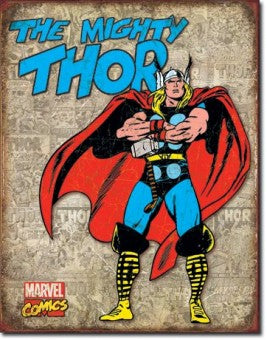 Superhero wall art - The Mighty Thor
