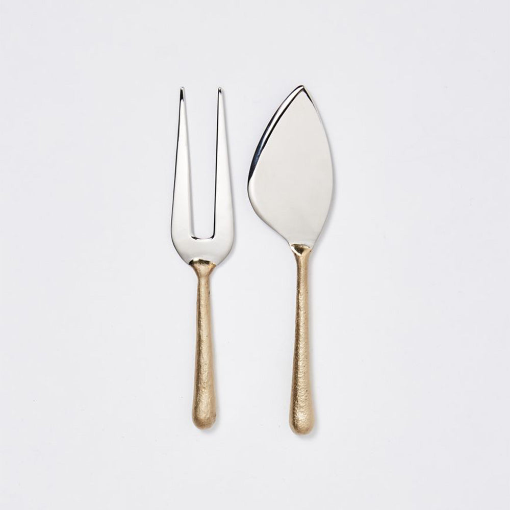 Knife and Fork set - Brass and Steel - COMING SOON