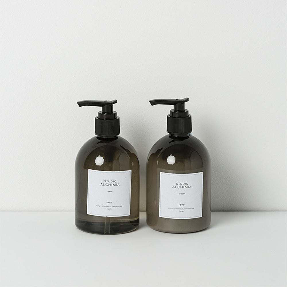 Hand cream and body wash