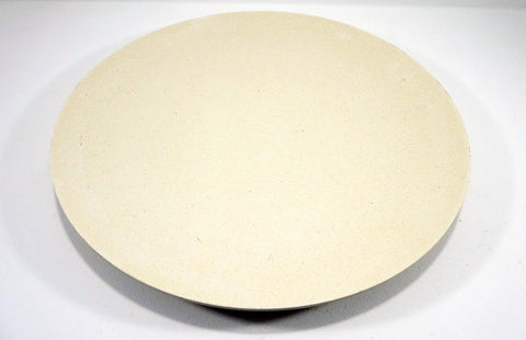 Bamboo round platter 36cm oat coloured