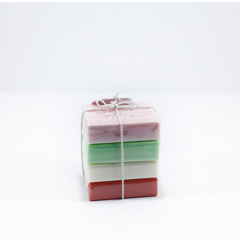 Set of 4 fragrant Soaps