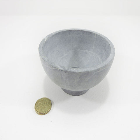 stone serving bowl small