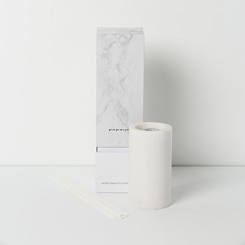 diffuser in white marble