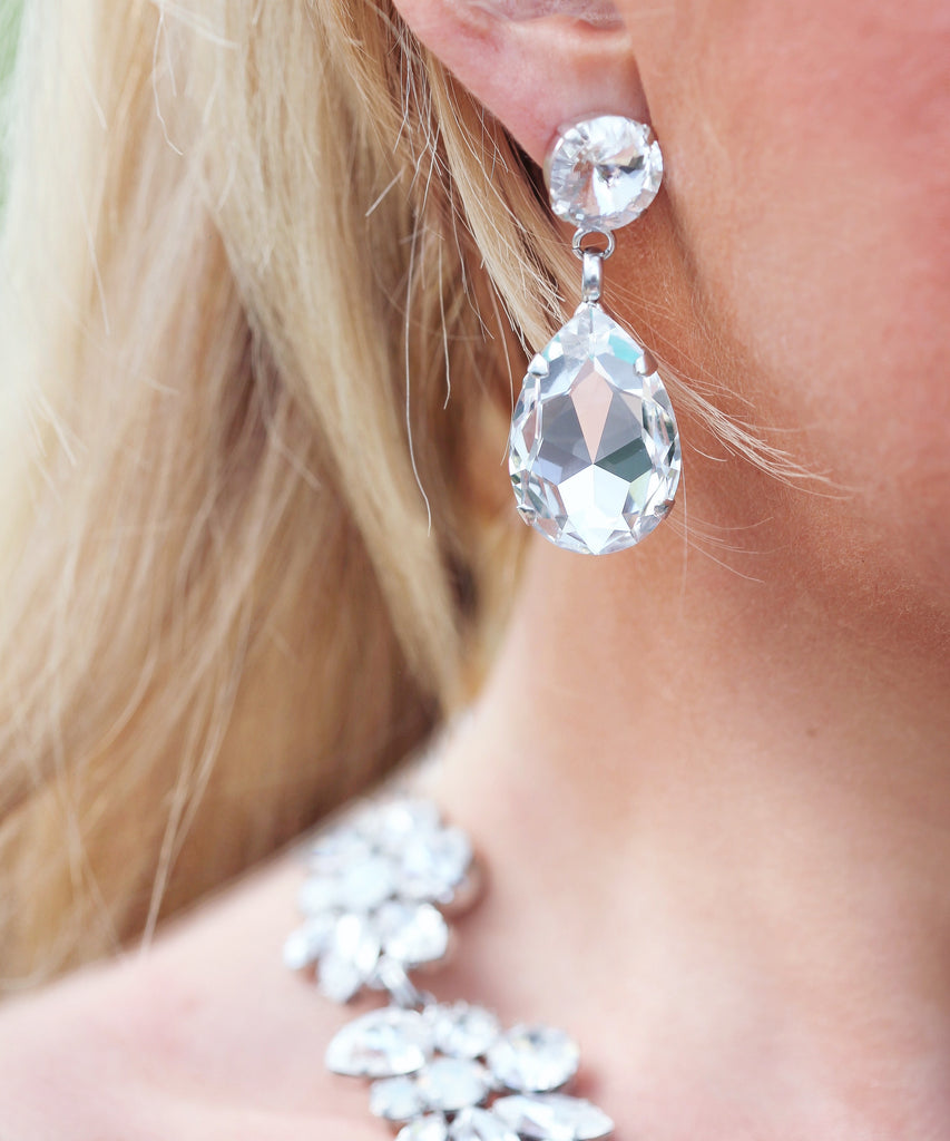 Ultimate Swarovski Statement Earrings