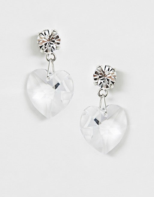 Daniela Crystal Swarovski Drop Earrings