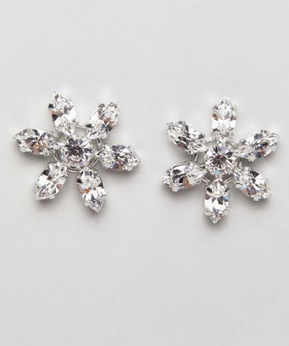 Snowflake Crystal Swarovski Earrings