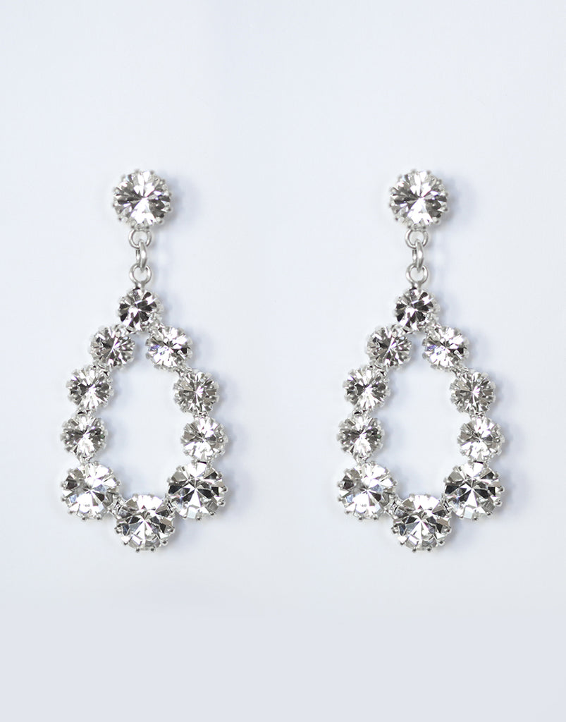 Tatiana Crystal Swarovski Drop Earrings