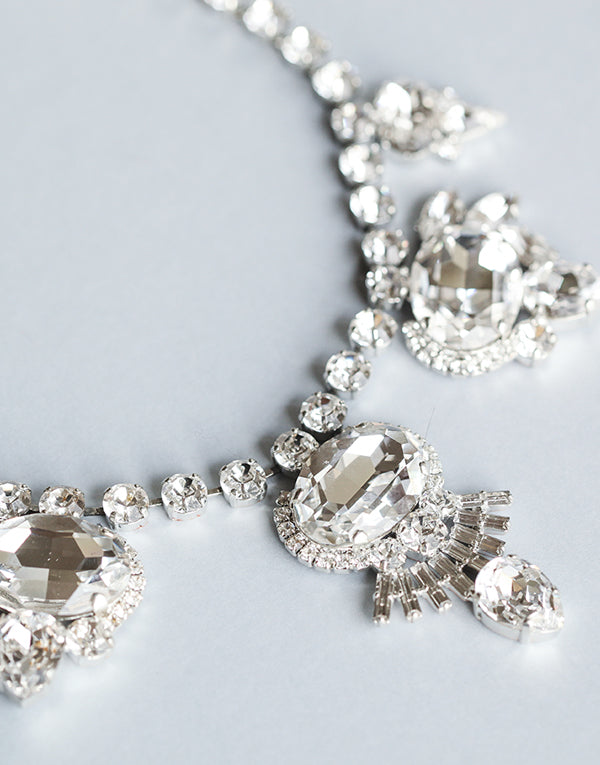 Olivia Swarovski Statement Necklace