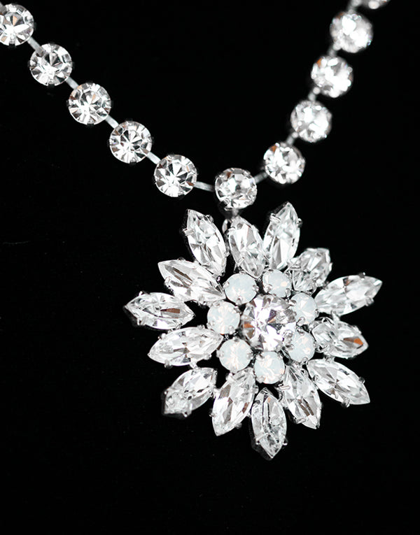 Snowflake Swarovski Necklace