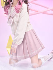 Cardcaptor Sakura Jk Uniform Skirt-Sets-ntbhshop