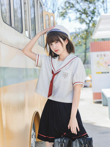 Cardcaptor Sakura Sailor Blouse & Skirt-Sets-ntbhshop