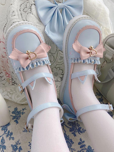 Cat Tea Party Mary Janes-Shoes-ntbhshop