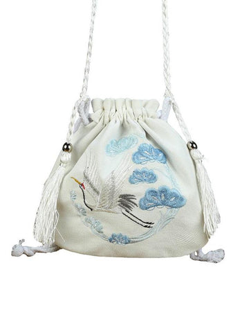Crane Drawstring Bags-Bag-ntbhshop