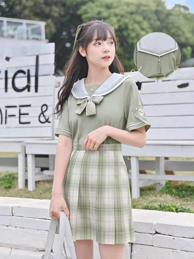 Youth Diary Sailor Blouse-Sets-ntbhshop