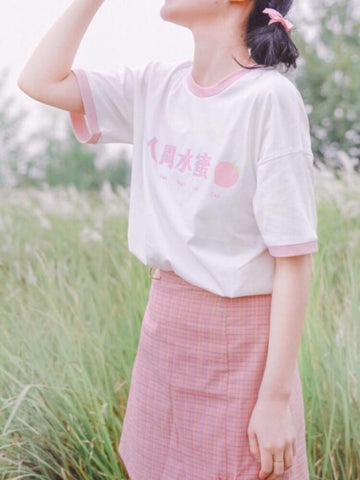 Peach Tees-Tee-ntbhshop