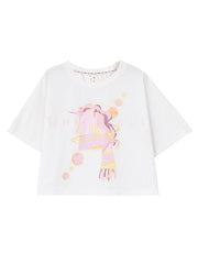 Pink Unicorn Crop Top-Sets-ntbhshop