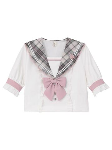 Sakura Idol Sailor Blouse & Skirt-Sets-ntbhshop