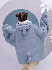 Shark Attack Fleece Hoodie-Sets-ntbhshop