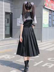 Sleeping Lion 2-Way Strap Skirt-Sets-ntbhshop