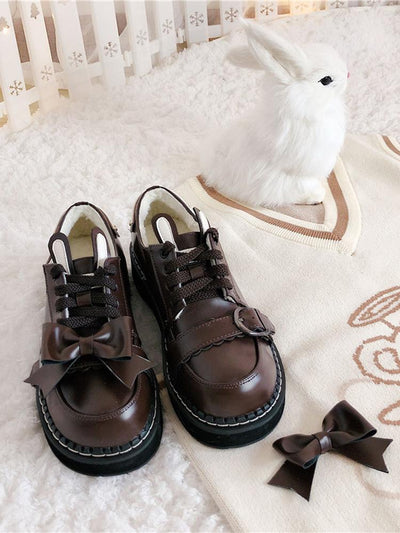 Sleeping Rabbit Mary Janes-Shoes-ntbhshop