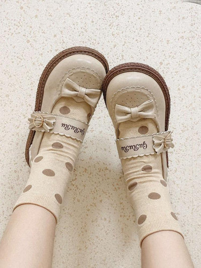 Sugar Cookie Mary Janes-Shoes-ntbhshop