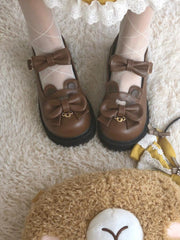 Sweet Bear Mary Janes-Shoes-ntbhshop