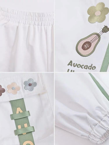 Ukulele Avocado Cargo Pants-Sets-ntbhshop