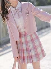 Valentina JK Uniform Skirts-Sets-ntbhshop