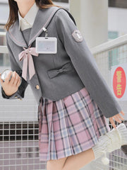 Valentine JK Uniform Skirts-Sets-ntbhshop